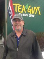 Smiling Matt at Tea guys